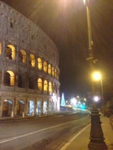 ローマで早朝ラン