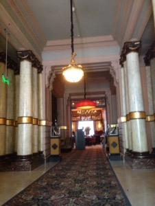 オランダ デン・ハーグの最高級ホテルDes Indes宿泊記ロビー