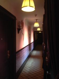 オランダ デン・ハーグの最高級ホテルDes Indes宿泊記廊下