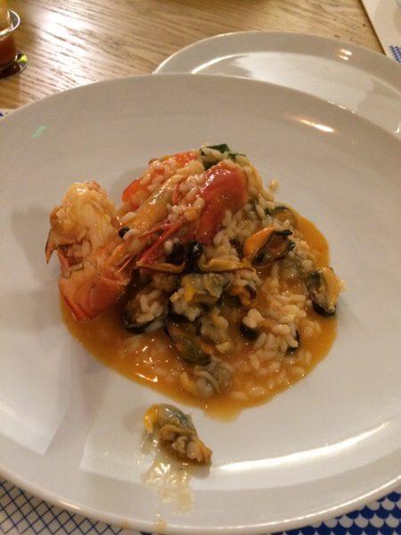 Ostras & Coisas Restaurante SAの魚介のエキスたっぷりArroz de Marisco