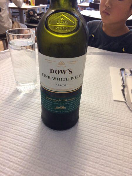 ポルト名物フランセジーニャ@Café Santiagoポートワイン