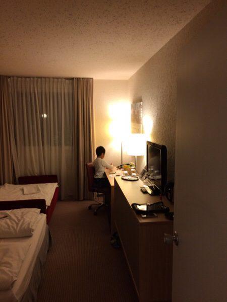プレイモビルファンパークPlaymobil-FunParkに行くのにおすすめのホテルFuerther Hotel Mercure Nuernberg West部屋エキストラベッド
