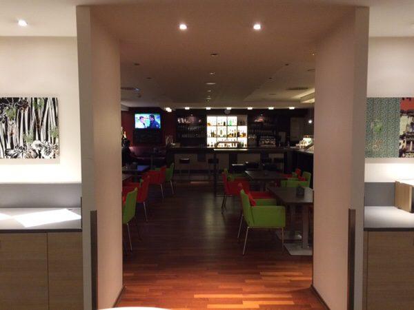 プレイモビルファンパークPlaymobil-FunParkに行くのにおすすめのホテルFuerther Hotel Mercure Nuernberg Westレストラン