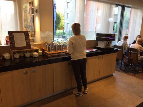 プレイモビルファンパークPlaymobil-FunParkに行くのにおすすめのホテルFuerther Hotel Mercure Nuernberg West朝食