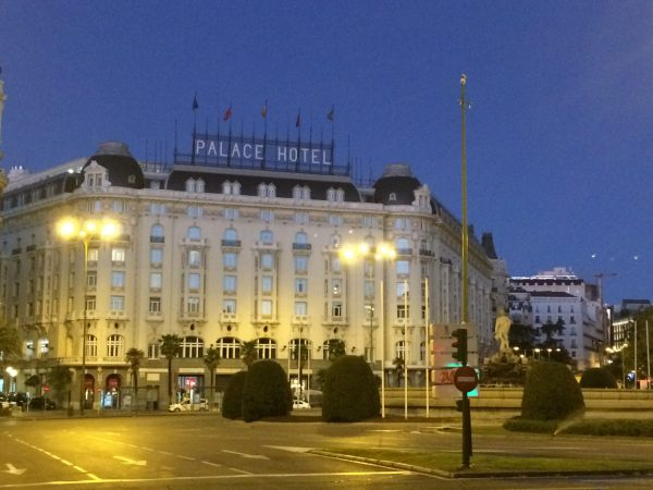 Westin Palace Madrid外観