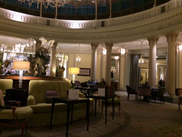 Westin Palace MadridロビーラウンジLa Rotonda