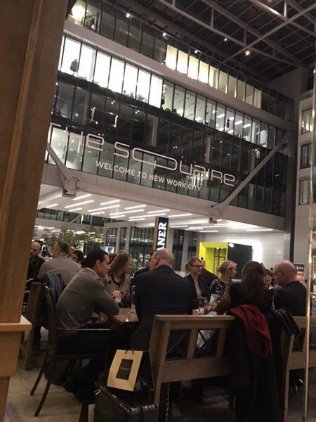 フランクフルト空港のお薦めレストランパウラーナーthe Squaire@Frankfurt Airport