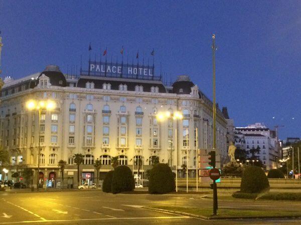 早朝ランマドリッドThe Westin Palace Madrid