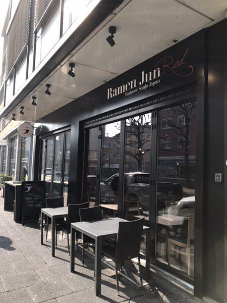 RamenJun Red Frankfurtの店舗の外観