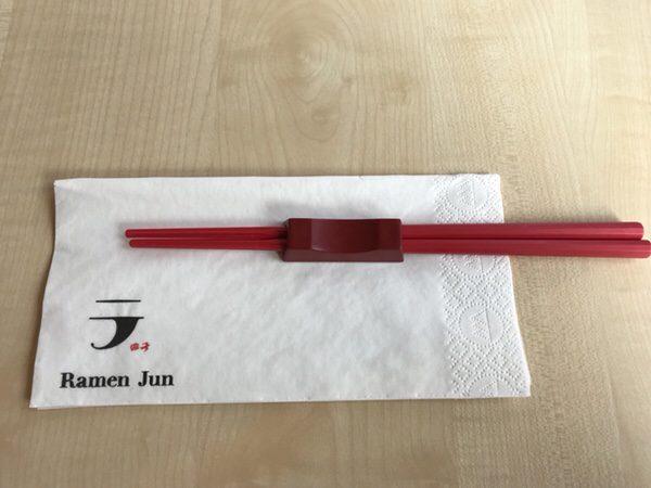 RamenJun Red Frankfurt赤いお箸