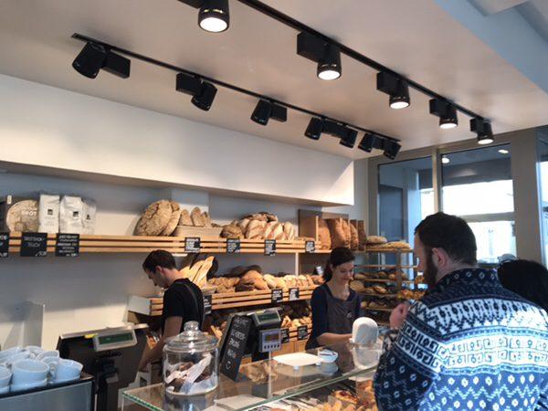 Zeit Fur Brot フランクフルトの大人気ビオパン屋さんの店内