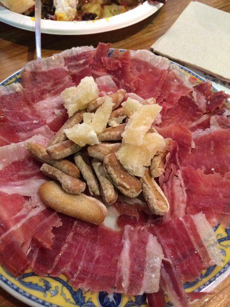 Mercado San Ildefonsoとろけるイベリコ豚の生ハム