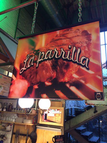 Mercado San Ildefonsoのお薦めステーキ