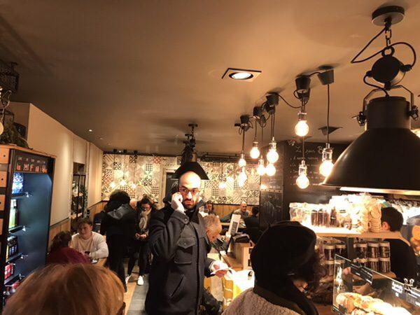 ストラスブールの美味しいパン屋さんL'atelier 116店内の様子