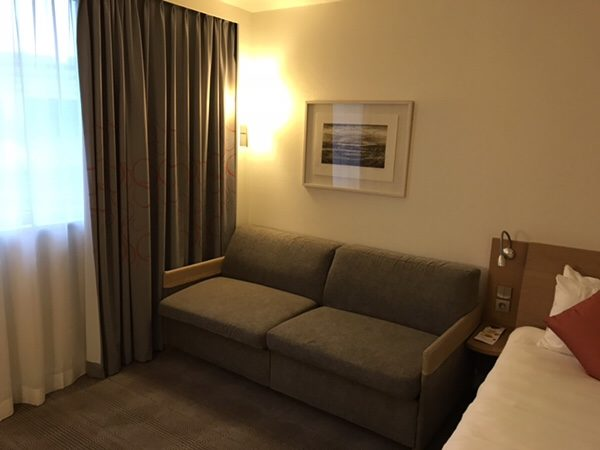 Hotel Novotel Paris Centre Bercyのソファー