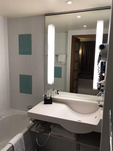 Hotel Novotel Paris Centre Bercy洗面シンク