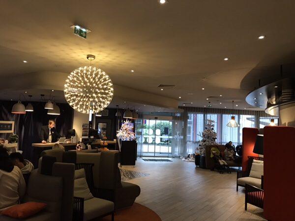 Hotel Novotel Paris Centre Bercyロビー
