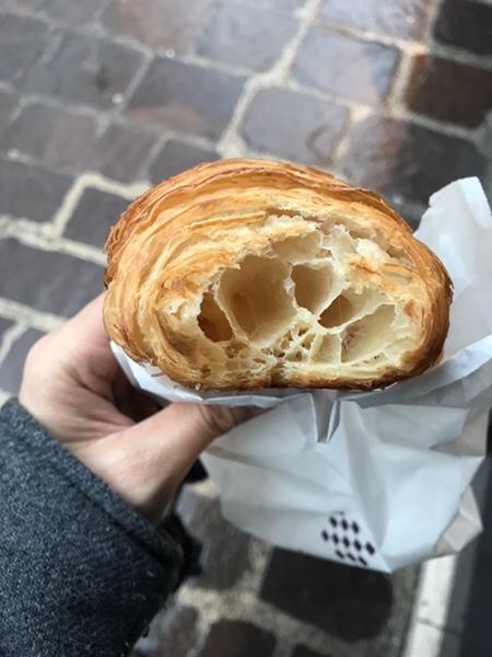 Lenotreパリ、美味しい絶品クロワッサン!