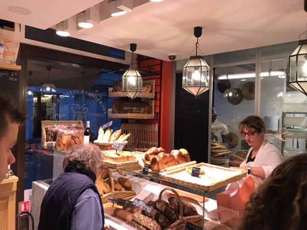 Boulanger de la Tour(ブーランジェ・ドゥ・ラ・トゥール)店内