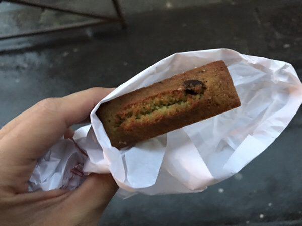 Boulanger de la Tour(ブーランジェ・ドゥ・ラ・トゥール)ピスタチオフィナンシェ