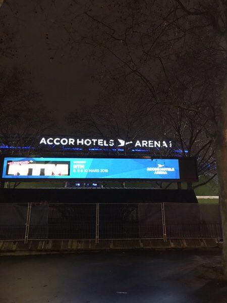 Hotel Novotel Paris Centre Bercyの隣にあるAccor Hotel Arena