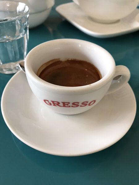 フランクフルトのお薦めカフェGresso