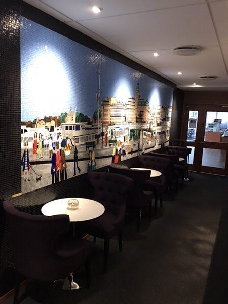 ストックホルム中心部にある便利なホテルBest Western Kom Hotel Stockholm宿泊記ロビー