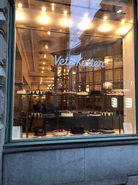 ストックホルムで最も有名な老舗ベーカリーVete-Katten!絶品セムラを絶対食べて!お店の外観