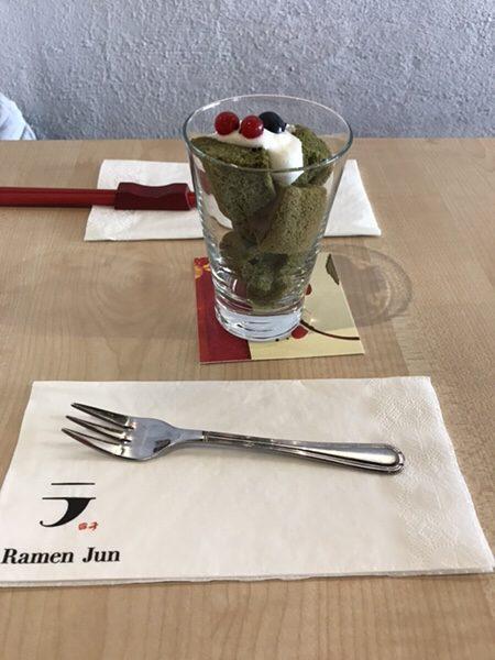 RamenJun Red Frankfurt抹茶シフォン