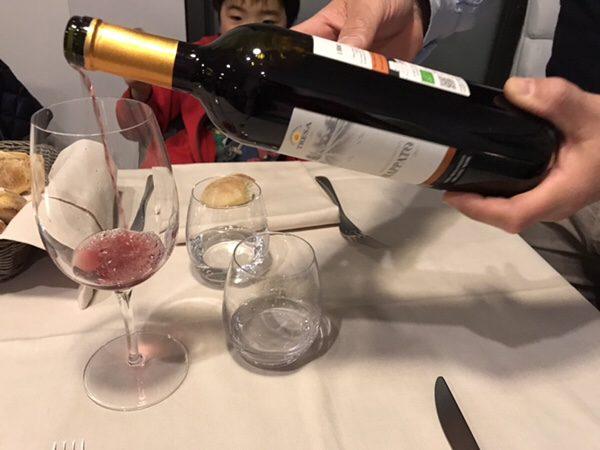 Bistrot du monde taorminaワイン