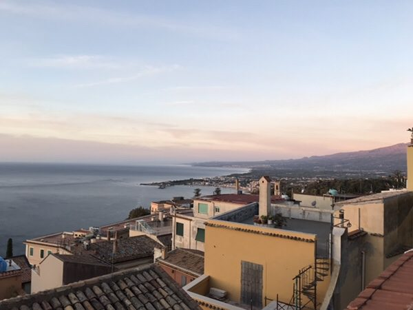 Taormina Flats屋上からの景色3