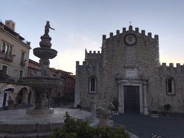 taormina-morning-run Duomo di Taormina