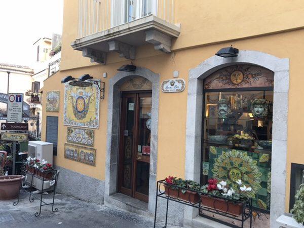 Bam Bar taorminaお店の外観