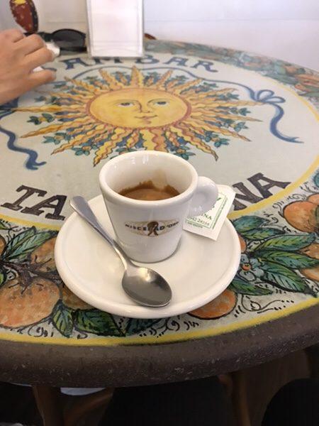 Bam Bar taorminaエスプレッソ