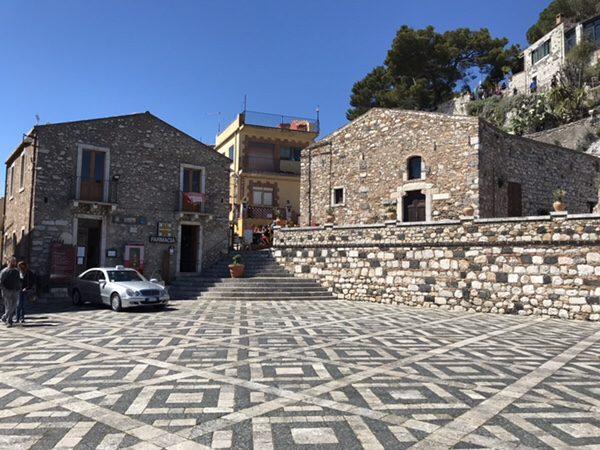 イタリアの最も美しい村Castelmola