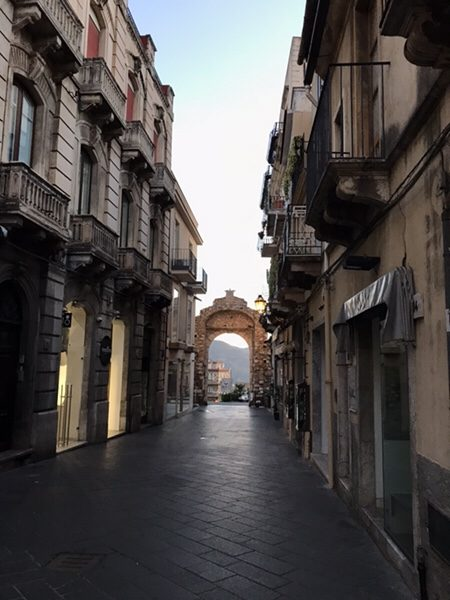 taormina-morning-run Corso Umberto