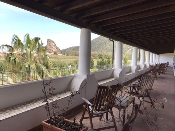 Hotel Garden vulcanoバルコニー