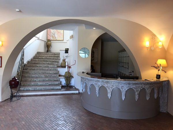 Hotel Garden vulcanoレセプション