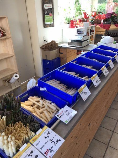 Bauer Lipp@Weiterstadtシュパーゲル販売所