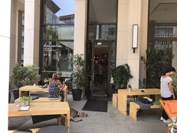 Bohnerie café röstsalon@frankfurtお店の外観
