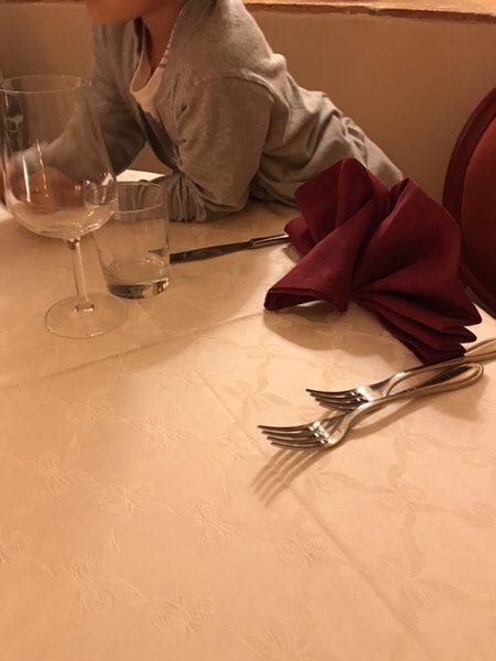 dinner hotel garden vulcano