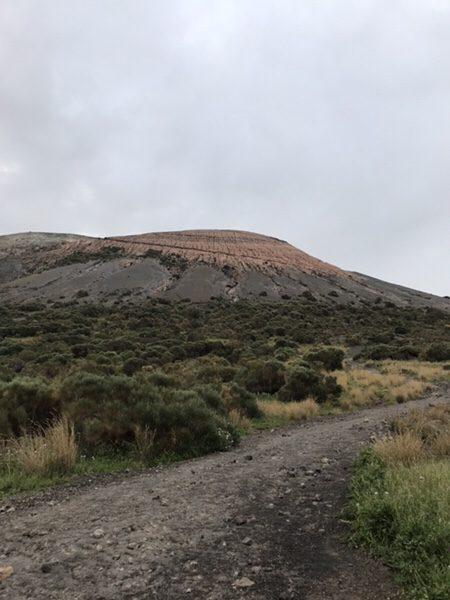 vulcanoで早朝ラングラン・クラテーレ山
