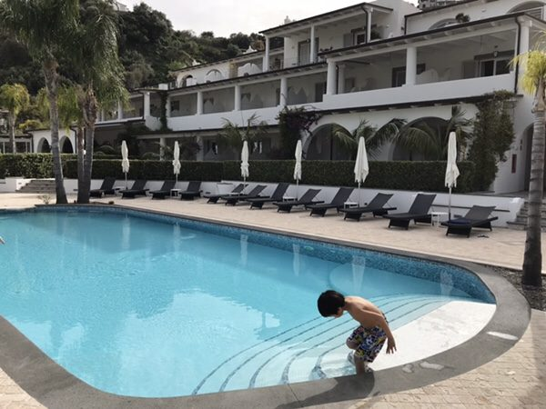 Hotel Mea 滞在記ホテルの景色