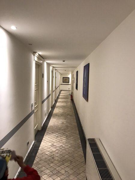 Hotel Mea 滞在記お部屋までの廊下