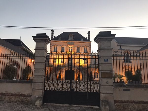 morning run in EPERNAY and Ay