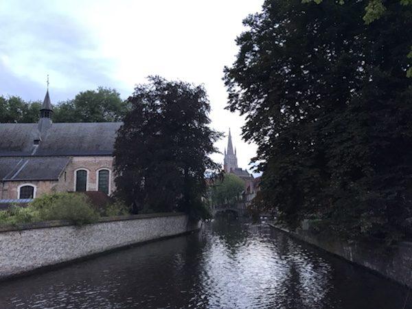 morning run in brugge