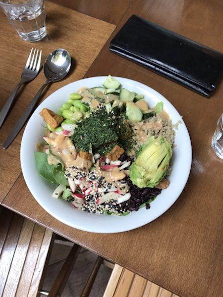 sla amsterdam Vegan Sushi Bowl