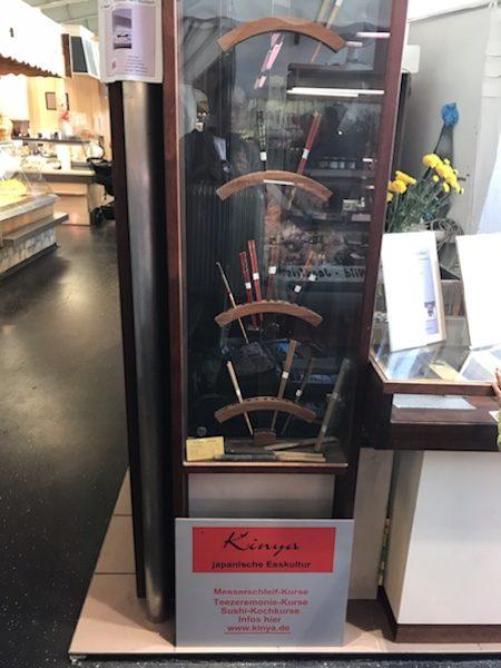 フランクフルトKleinmarkthalleの美味しい寿司@Kinya
