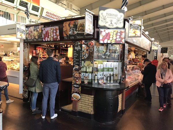 フランクフルトKleinmarkthalle