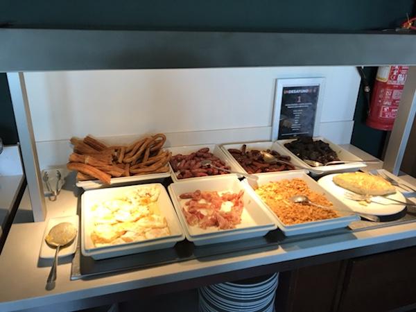 breakfast Parador de Toledo